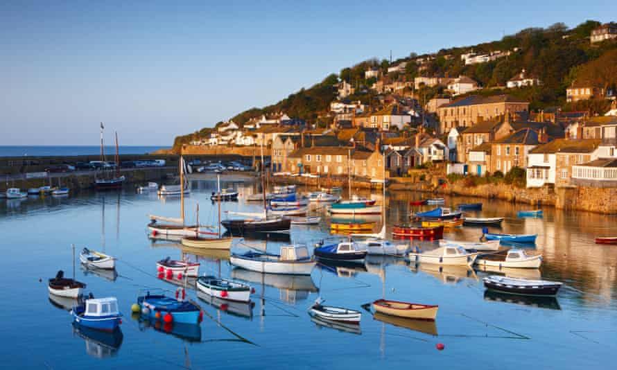 The Cornish harbour of Mousehole.