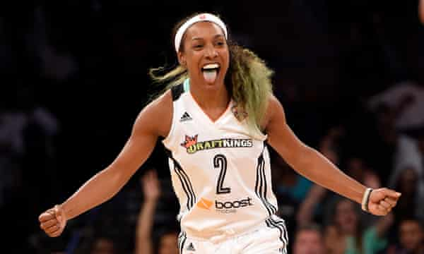 Candice Wiggins: I was bullied for being straight in '98% gay' WNBA   WNBA   The Guardian