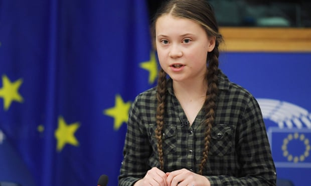 theguardian.com - Jennifer Rankin - Greta Thunberg urges EU leaders to 'wake up' on climate change