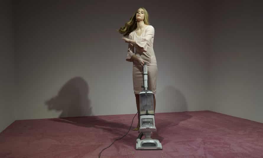 Jennifer Rubell's artwork Ivanka Vacuuming