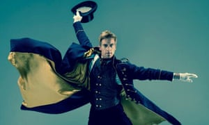 Magic … Adam Cooper as Drosselmeyer in a promotional shot of Will Tuckett's Nutcracker.