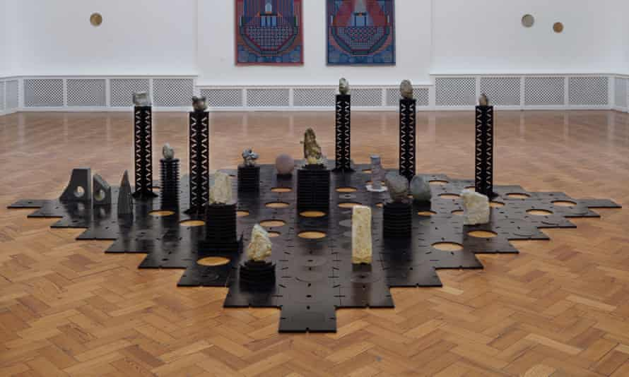the stones Popova collected from Britain's nuclear sites.