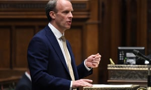 Dominic Raab makes a statement on Hong Kong to parliament