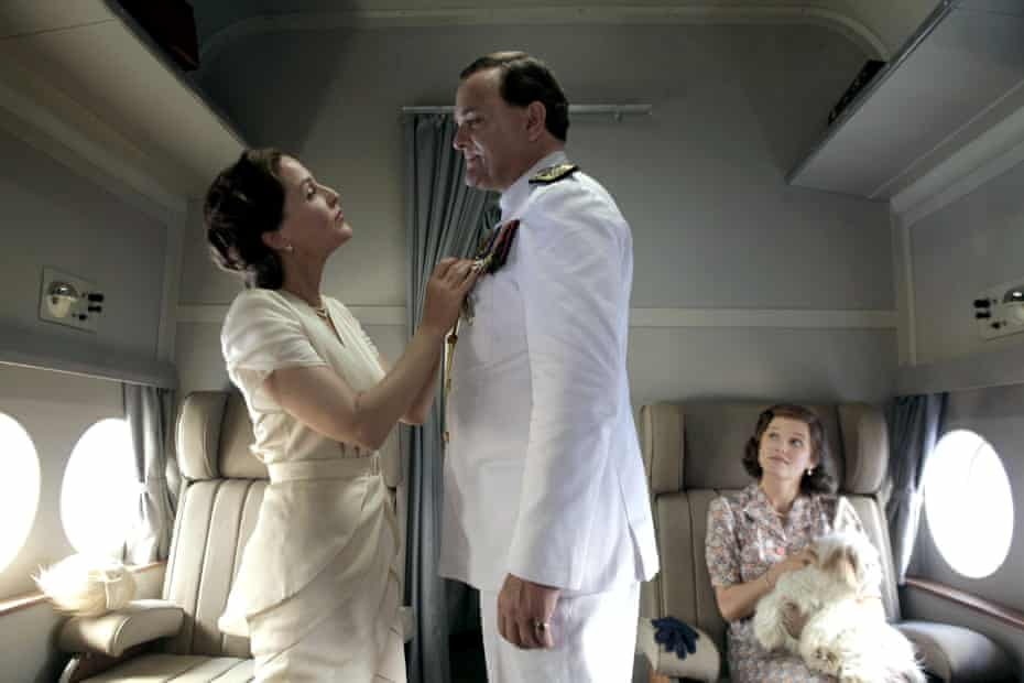 Gillian Anderson and Hugh Bonneville in Viceroy's House.