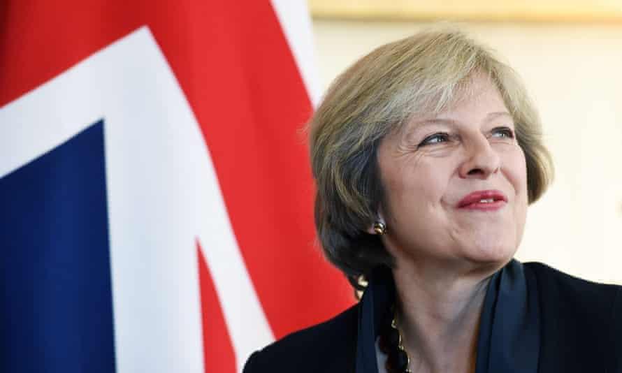 British Prime Minister Theresa May at 10 Downing Street , 11 October 2016.