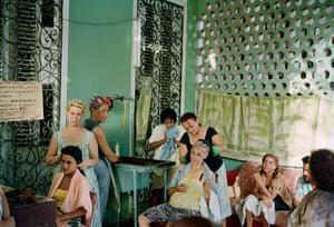 Beauty Salon Vedado, Havana, Cuba 1993