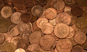 The chancellor has decided not to axe the 1p and 2p pieces.