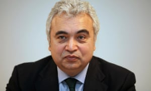 International Energy Agency chief Fatih Birol.