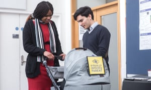 """Sight-impaired people could have a safer way to get around with their young children after Imperial College London students developed a """"smart baby buggy"""". A local resident with a sight impairment, Ramona Williams, explained to bioengineering students how difficult it was for her to use a cane and push a buggy at the same time. The students designed applied ultrasound sensors to a baby buggy, and developed a smartphone app to identify further hazards."""