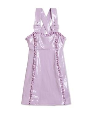 Alexa Chung's lilac apron.