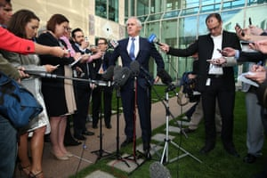 Among the press pack, the week had begun with murmurs of trouble, and when Turnbull called at press conference at 4pm everyone knew what he was about to announce: #itson began trending on social media.