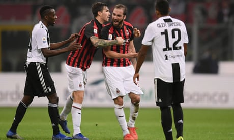 Gonzalo Higuaín suffers Milan meltdown as Juve push him over the edge | Paolo Bandini