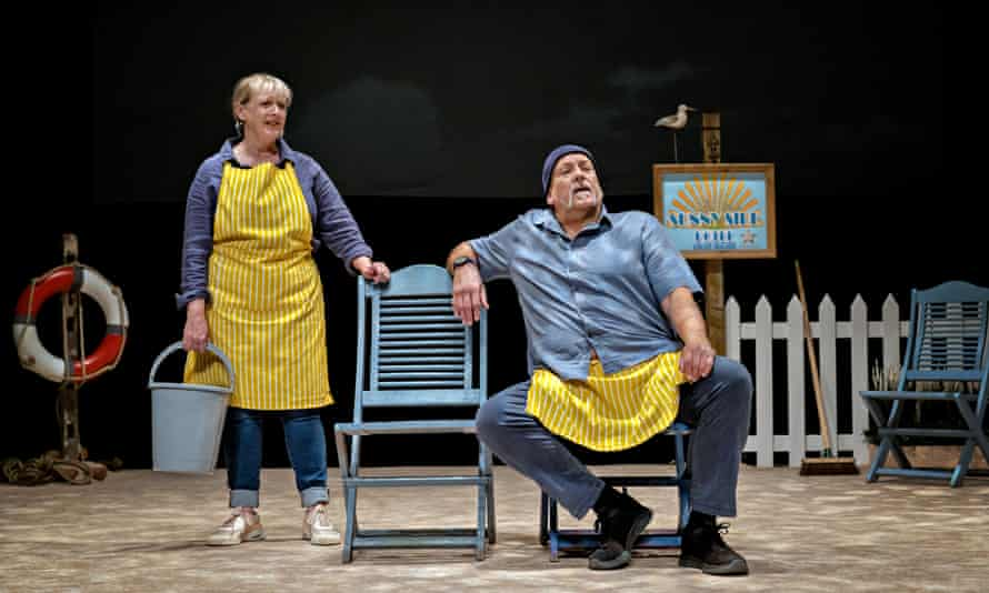 Jane Thornton and John Godber in Sunny Side Up! at the Theatre Royal in Wakefield.