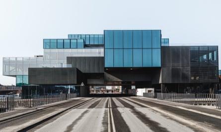 Drive-through architecture … OMA's Blox project in Copenhagen.
