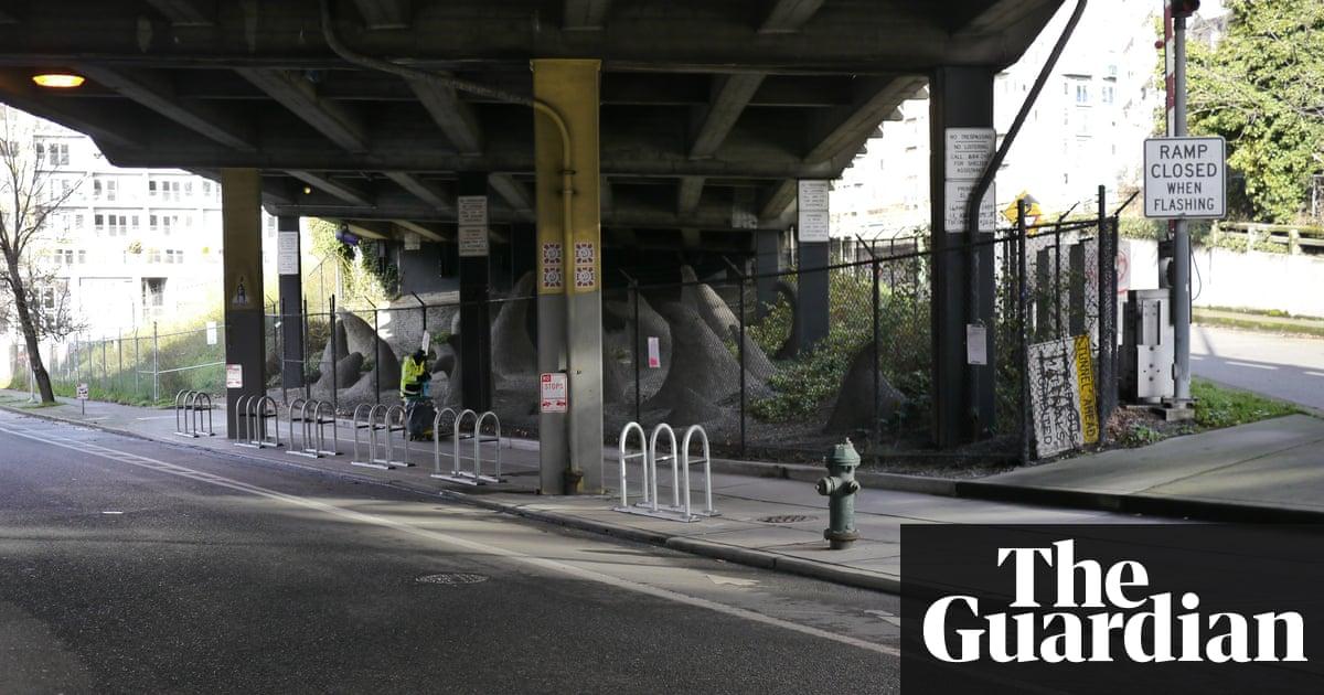 New anti homeless architecture Seattle uses bike racks to