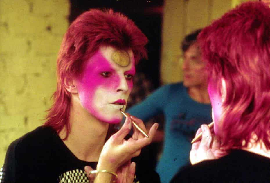 'Through the persona of Ziggy Stardust, David Bowie was able to comfort himself and address his fears.'
