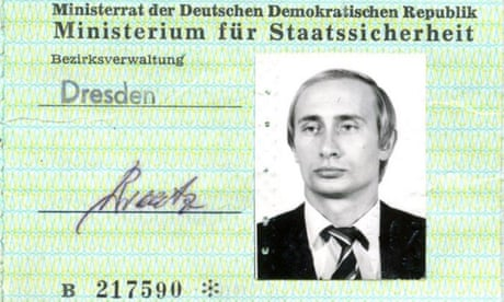 Putin's East German identity card found in Stasi archives – report