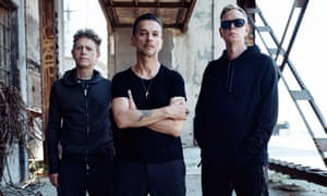 Inconsolable gloom spiked with bursts of fizzing anger … Depeche Mode.