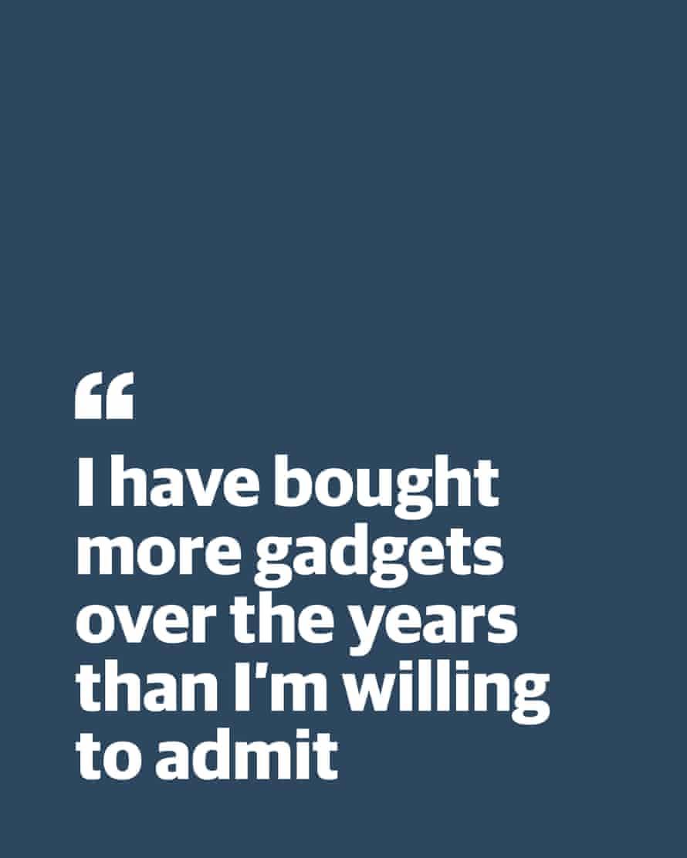 "Kutipan dari Chris Fletcher: ""Saya telah membeli lebih banyak alat selama bertahun-tahun daripada yang ingin saya akui"""