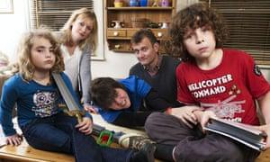 From left, Ramona Marquez, Claire Skinner, Tyger Drew-Honey, Hugh Dennis and Daniel Roche.