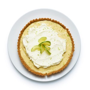 Felicity Cloakes' perfect key lime pie.