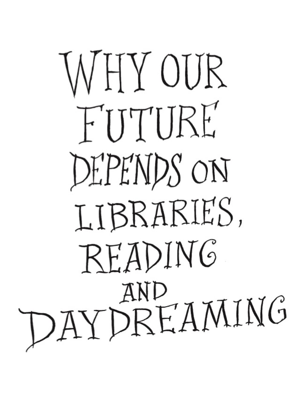 Neil Gaiman And Chris Riddell On Why We Need Libraries – An Essay In Pictures for The Guardian