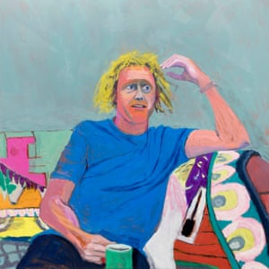 Portrait of an artist … The Seeing Orator, (Grayson Perry), by Lucy Jones, 2018.