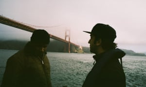 Jimmie Fails and Joe Talbot on the set of The Last Black Man in San Francisco