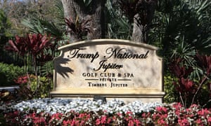 Trump National Golf Club and Spa in Jupiter, Florida.