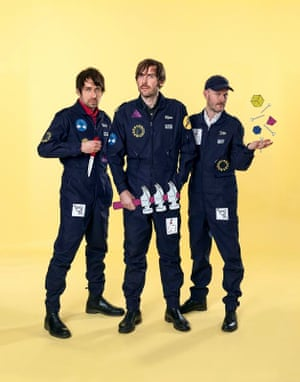 Not librarians … Peter Bjorn and John today