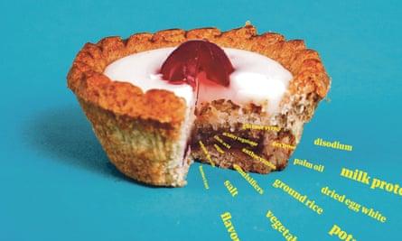 Mr Kipling Cherry Bakewells: a 'shocking' list of ingredients.