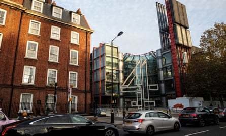 Channel 4's current headquarters on Horseferry Road, south-west London