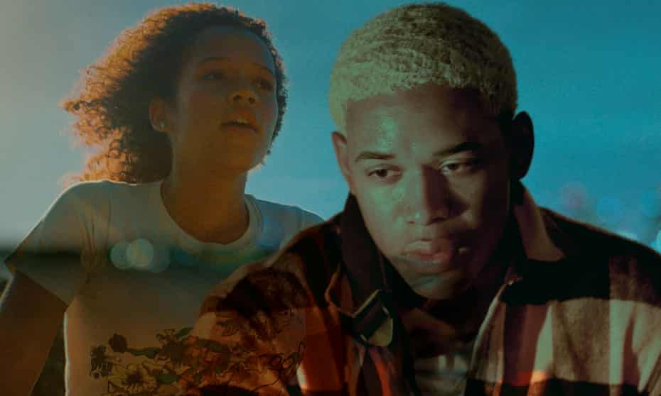 Youth interrupted... Taylor Russell and Kelvin Harrison Jnr in Waves.
