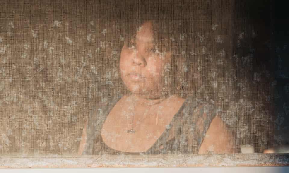 Tiffany Pennywell at her home in Shreveport, Louisiana on 28 February.