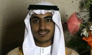 Hamza bin Laden seen in a video released in late 2017.