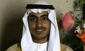 In this image from video released by the CIA, Hamza bin Laden is seen at his wedding.