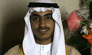 Hamza bin Laden seen in a video released in late 2017.