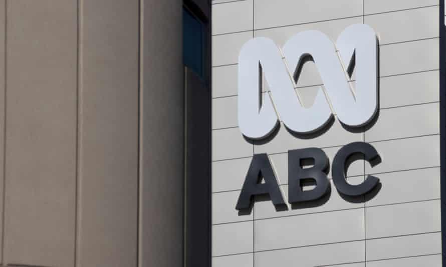 The ABC logo outside the Australian Broadcasting Corporation's Ultimo headquarters
