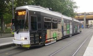 A tram