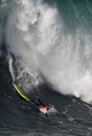 Portuguese surfer João de Macedo