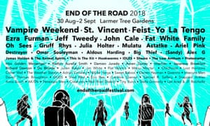 End of the Road festival 2018 line-up