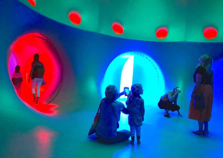 Dodecalis Luminarium, an art installation at the 2020 Sydney festival