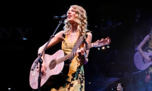 'A callback to Taylor's Nashville roots would be a partial reset that's both believable and on trend' ... Swift performing in Las Vegas, 2010.