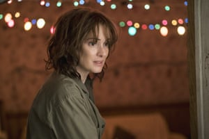 """In Stranger Things, we meet Joyce Byers: missing son, awol husband, Christmas lights on the fritz. Nothing says """"mum on the verge of a nervous breakdown possibly dealing with some extra-dimensional freakery"""" more than the anti-chic of a beaten-up field jacket."""