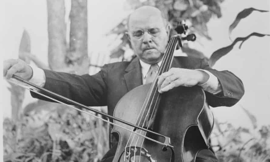 Pablo Casals performing in 1958.