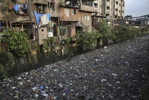 MumbaiRubbish chokes a polluted canal in the Indian city. Last week marked world environment day and world ocean day, which both highlighted plastic pollution as the most urgent problem facing our planet.