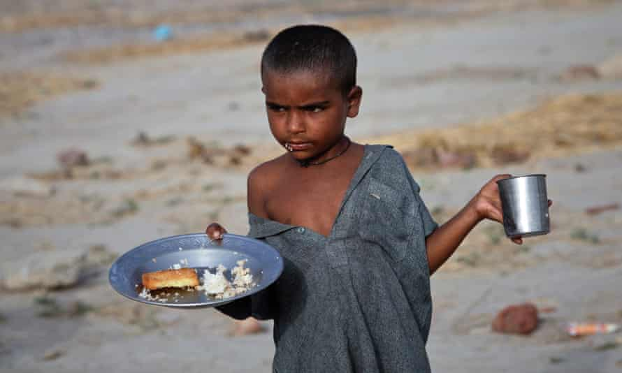 A child in Pakistan's Sindh province in 2011