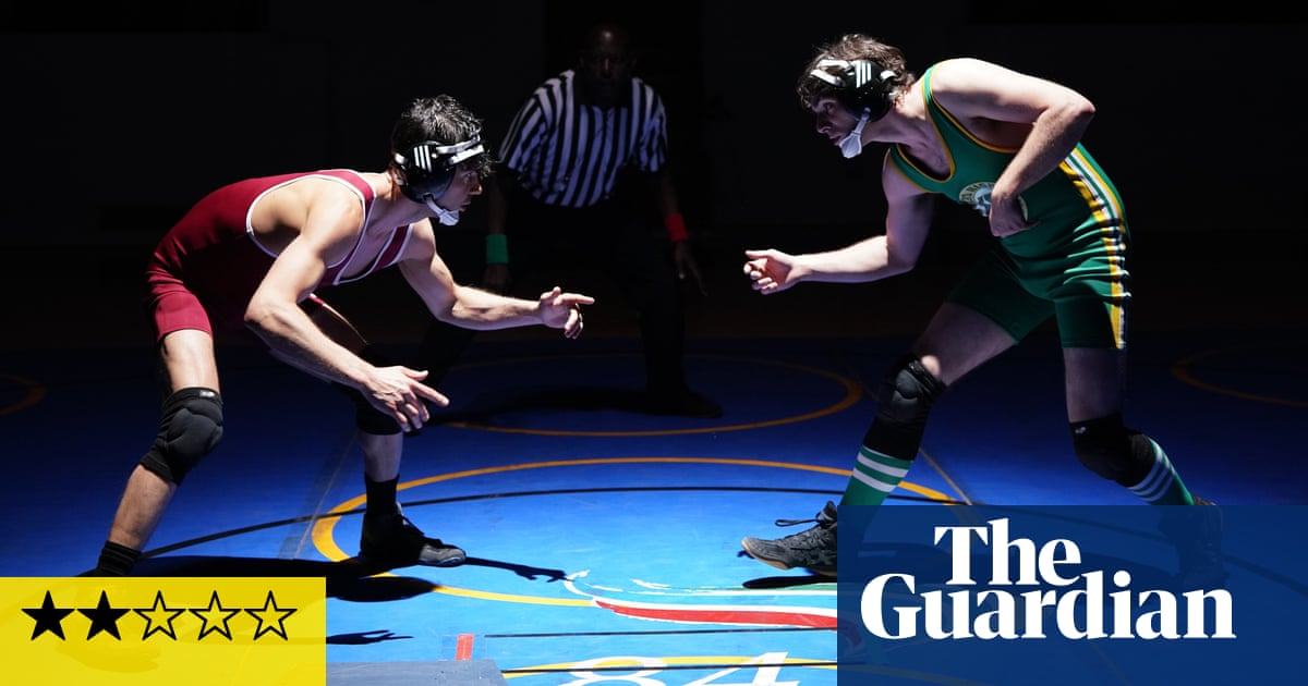 Triumph review – RJ Mitte grapples with sporting ambition in the wrestling ring