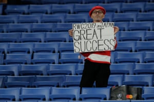 Japanese fans embraced the Rugby World Cup.