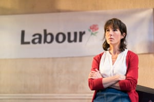 Forward with Labour … Tamsin Greig as the young activist Jean.
